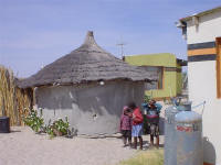 traditional namibian house