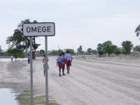 Omege Village in northern Namibia