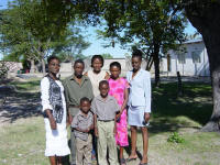 host family in Omege, Namibia