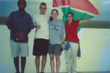 picture of us at Etosha taken by Namibian girl