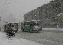 winter in Dalian china